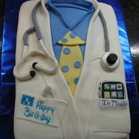 Happy Birthday Doc! I know this cake looks like a lot of others on this site, so a big THANKS to all those before me. The one personal touch was the iPhone in...