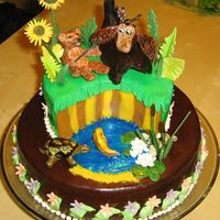 Little Bear   My son's favorite movie. For last year's fairy tale cake contest