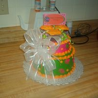 "Birthday Cake Got the idea from ""Cakery"", she has GREAT cakes."