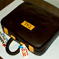 Briefcase Cake Customer requested this cake for her husband getting a new job. They were leaving town and she wanted to throw a party for him before they...