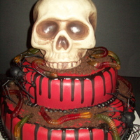 Halloween/birthday Cake