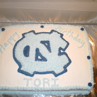 Unc Cake UNC birthday cake for my niece