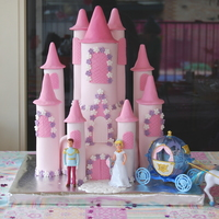 Princess Castle This was the cake I made for my daughter Indianna's 3rd birthday.