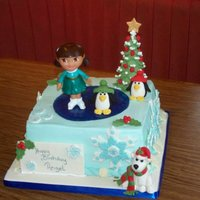 Dora Christmas Birthday