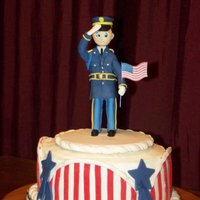 Hometown Soldiers' Fund 2010 This cake was auctioned at our local fundraiser. They use the money to send packages to a list of local soldiers serving overseas. It was a...