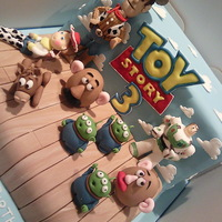 Toy Story Toy Story birthday cake and edible