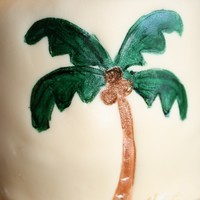 Beach Cake Almond cake with red raspberry cream filling and almond bc and mmf. Details are handpainted.