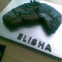Ellies Cake this was a cake for my beautiful niece ellie who loves horses. I didn't have any idea of how to start so i drew a picture first and...