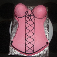 Lingere Cake   a 9x13 with the mini wonder pans