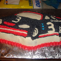 Dale Earnhardt Cake   used the nascar cake pan and made it dale earnhardt