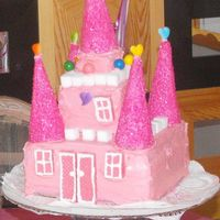 Princess Castle Birthday Cake My two granddaughters wanted a Princess Castle Cake for their Birthday. Since they loved it so much. I was inspired to make my grandson&#...