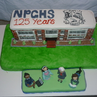 Npghs 125Th Jubilee Cake