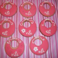 Monogram Baby Girl Cookies NFSC with MMF an RI
