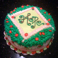 Hope Christmas Cake Cake for the HOPE Christmas party. HOPE (Homeless & Orphaned Pets Endeavor) is a wonderful, no-kill humane group based in Houston that...