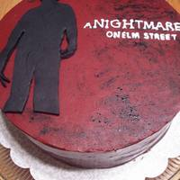 Nightmare   For my boyfriend's birthday he wanted a 'Nightmare on Elm Street' cake....