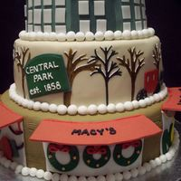 2010 The Art Of The Cake Show Cake  This cake was made for the 2010 Art of the Cake show in Cleveland, OH. The theme for the divisional competition was Winter Wonderland. My...