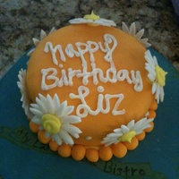 Daisy i made this cake for my best friends it is my first cake ever!!!!!!!