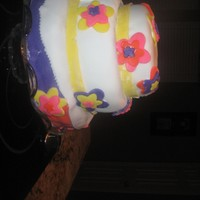 Flower Cake!!! i am thrteen and i think this is horrible but my mom said it is good for my first tier cake