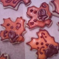 Fall Leaves Fall cookies NFSC & MMF. Thanks to cc friends for inspiration.