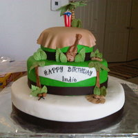 Indio's Birthday I loved baking and decorating this cake.....