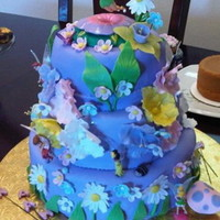 Hannah's Tinkerbell Thanks to the many CC'ers who inspired this cake....
