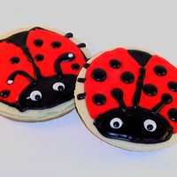 Lady Bug Cookies I made various versions for a customer