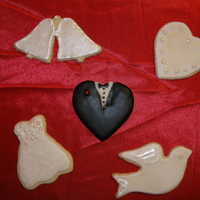 Wedding Cookies wedding sugar cookies for a friend