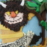 Where The Wild Things Are MMF and buttercream, crown is gumpaste