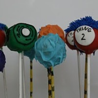 Dr Seuss Cake Pops!