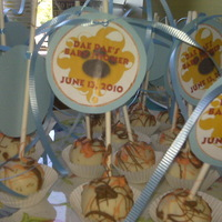 King Of The Jungle Cake Truffles I made these for my niece's baby shower to go along with the cake. They are vanilla cream cheese with a hint of vanilla caramel coffee...