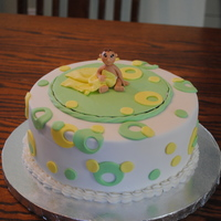 Cute Baby This is my first modeling after getting Aine2's tutorials. Made for a baby shower for a mom that doesn't know the sex of the baby...