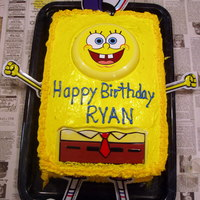 Spongebob This was a cake that I did for my youngest son's 3rd birthday. He still loves Spongebob.