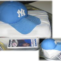 Baseball Hat   Made this for a birthday, baseball hat, baseball ticket and shirt