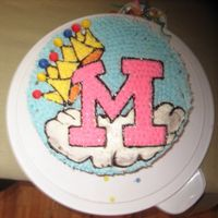 Queen Migdalia This was my 3rd cake. I designed it for my niece who thinks she is a queen. She was turning 13. I used buttercream icing and fondant for...