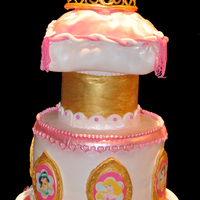 Princess Birthday Cake   Princess Birthday Cake for my 5 year old daughter