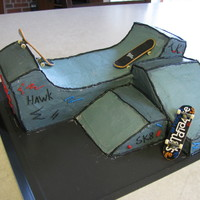 Skateboard Park My son wanted a skateboard for his birthday, so I decided to make him a skateboard park cake to go with it. I looked at many different...