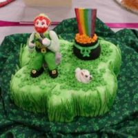 St. Patrick's Day Cake This was the first cake I had ever decorated. I entered it in the Oklahoma Sugar Art Show when I was 17 years old.