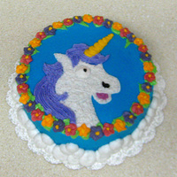 Fabulous Unicorn I made this cake for an in-store demo that my Wilton instructor was holding. I was showing off Course 1 techniques and got to do whatever I...