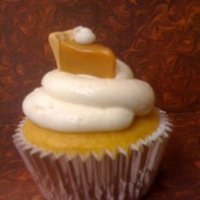 Pumpkin Pie Cuppies When I saw these on CC I had to try them. Pumpkin WASC with spiced cream cheese frosting and caramel/MMF pie topper. Without a doubt, the...