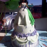 Princess And The Frog Cake Princess and the Frog Cake