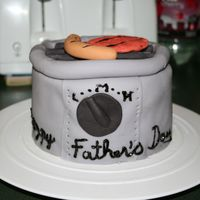 Grill Cake For Father's Day