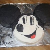 Mickey Mouse 2Nd Birthday Cake