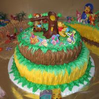 My Son First Year Cake winne the pooh
