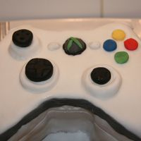 Xbox360 Pad Xbox 360 pad for my step-sons birthday. Its my first attempt at a funny shaped cake (meaning i have only done circle and square cakes) my...