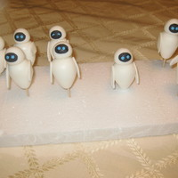 Eva (From Wall-E) Cupcake Toppers