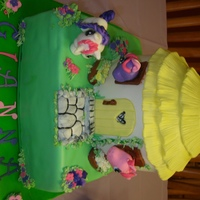 My Little Pony Cake My little pony house with ponies
