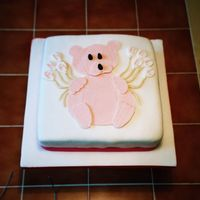B/cake   Made this cake for a friend of mine who's daughter was having her 2nd Birthday.