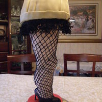 Leg Lamp This is a play off of the leg lamp from the movie A Christmas Story, it was for a friends birthday. Christmas Story is one of her favorite...