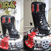 Raquel's Birthday Cake Just another fun cake....enjoy....cakesmith
