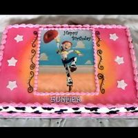 Toy Story Cake Jessie themed cake. TYFL Mark-Mexicano